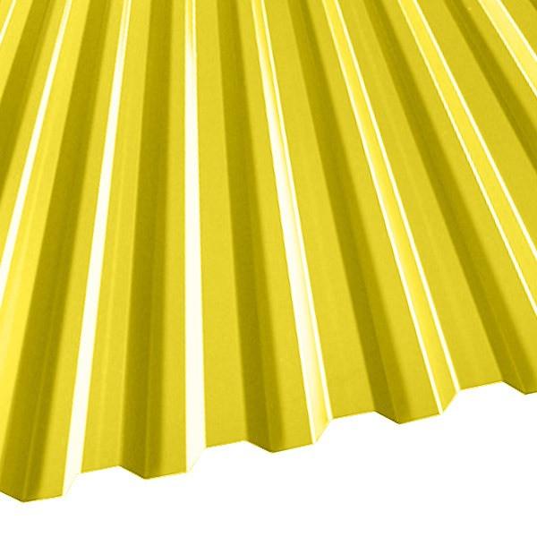 Профнастил C-21 (1051/1000) 0,45 полиэстер RAL 1018 (цинково-желтый)