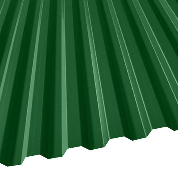 Профнастил C-21 (1051/1000) 0,5 полиэстер RAL 6002 (лиственно-зеленый)