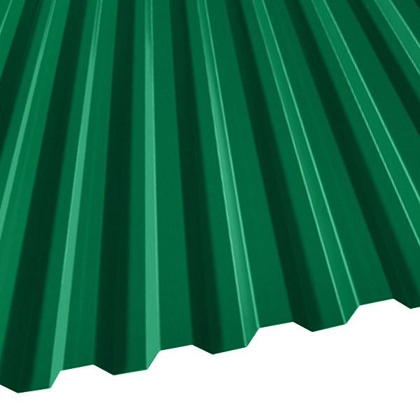 Профнастил C-21 (1051/1000) 0,45 полиэстер RAL 6029 (мятно-зеленый)