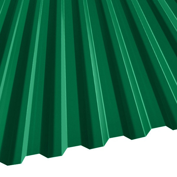 Профнастил C-21 (1051/1000) 0,7 полиэстер RAL 6029 (мятно-зеленый)