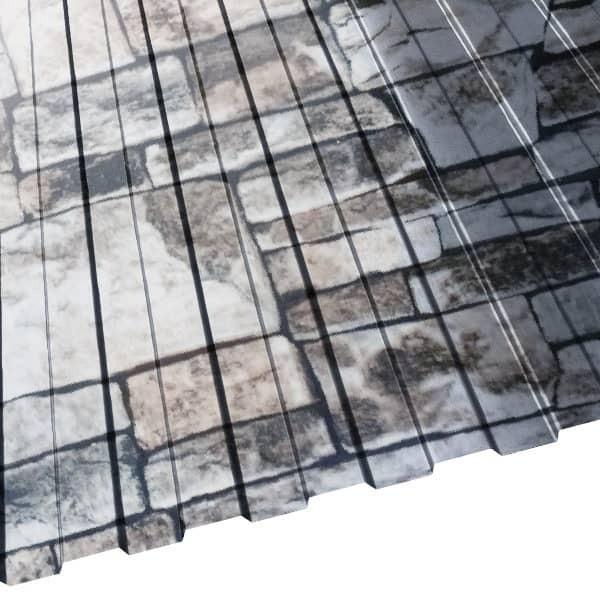 Профнастил С-8 Россия (1225/1140) 0,45 Printech кварцевый сланец 3D