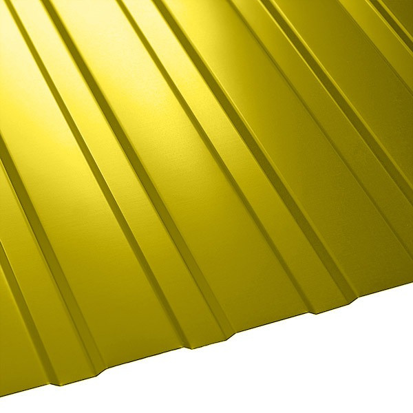 Профнастил C-8 Польша (1210/1170) 0,4 полиэстер RAL 1018 (цинково-желтый)