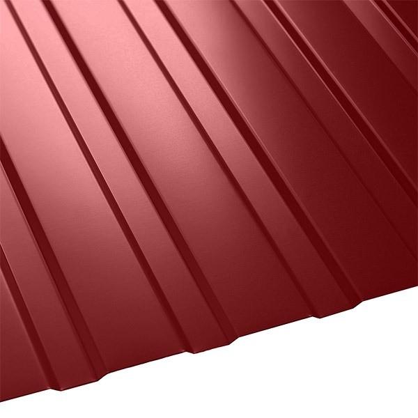Профнастил C-8 Польша (1210/1170) 0,4 полиэстер RAL 3003 (рубиново-красный)