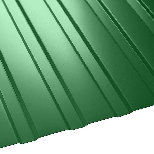Профнастил C-8 Польша (1210/1170) 0,55 полиэстер RAL 6002 (лиственно-зеленый)