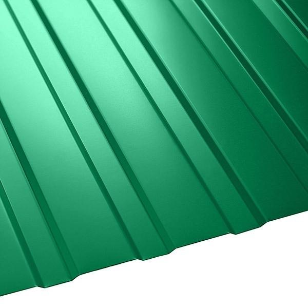 Профнастил C-8 Польша (1210/1170) 0,55 полиэстер RAL 6029 (мятно-зеленый)