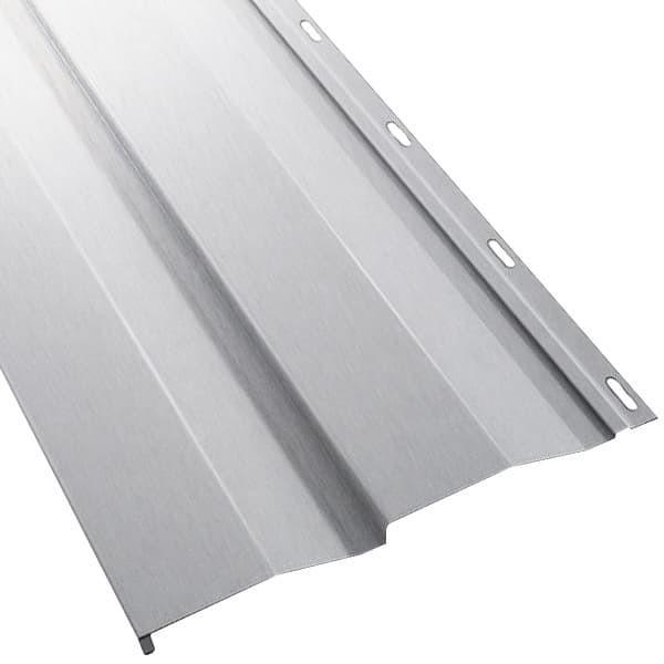 Металлосайдинг Корабельная доска в пленке (270/235) 0,45 ZN (оцинкованная сталь) (Металлосайдинг)