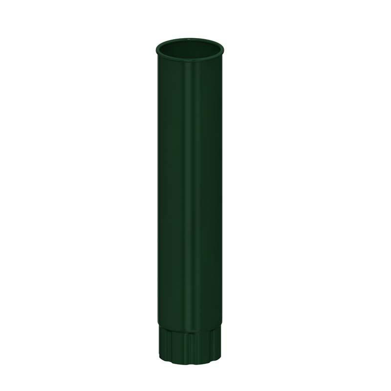Труба водосточная D 100*1000 «Престиж», RAL 6005 (Водосток)