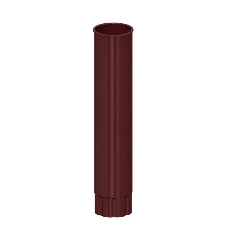Труба водосточная D 100*1000 «Престиж», RAL 8017 (Водосток)