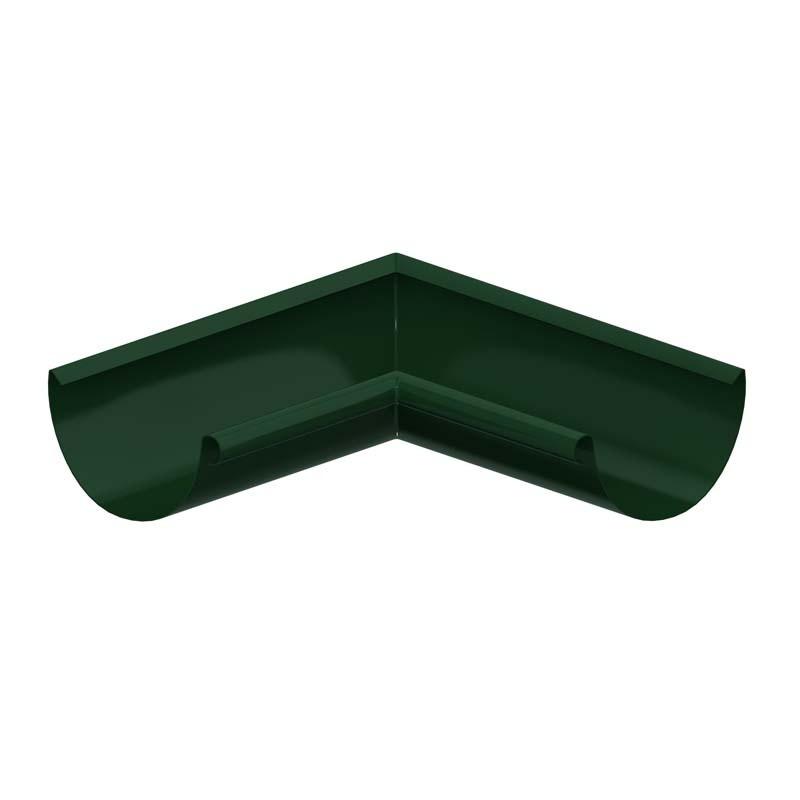 Угол желоба внешний/ внутренний 90º «Престиж», RAL 6005 (Водосток)