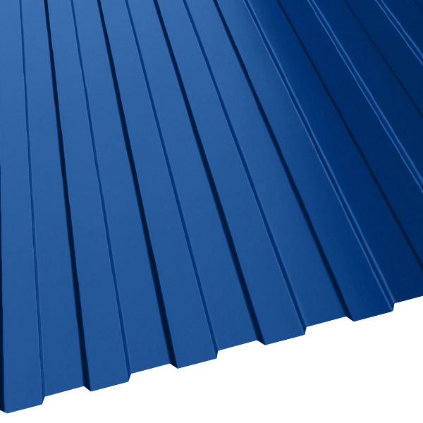 Профнастил МП-10 (1200/1100) 0,65 полиэстер RAL 5005 (сигнальный синий)