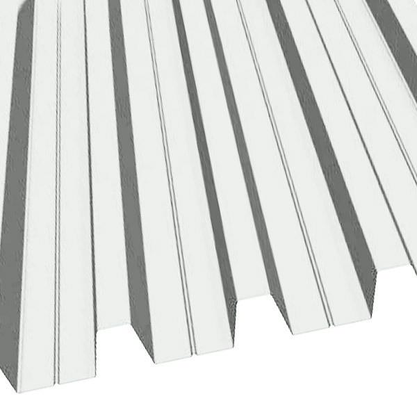 Профнастил Н-60 (902/845) полиэстер 0,5 RAL 9003