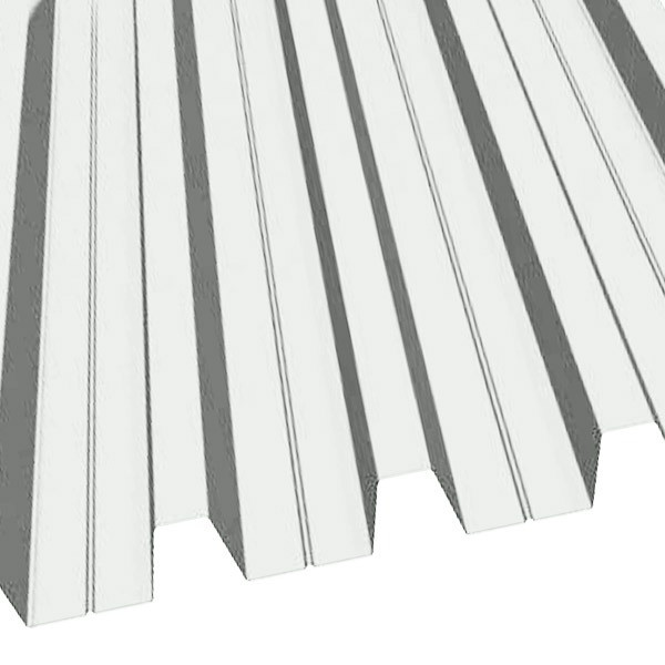 Профнастил Н-60 (902/845) полиэстер 0,8 RAL 9003