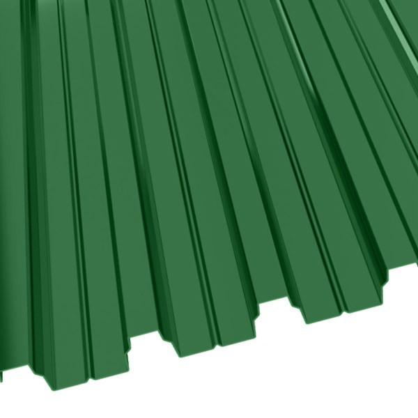 Профнастил Н-75 (800/750) 0,9 полиэстер RAL 6002 (лиственно-зеленый)