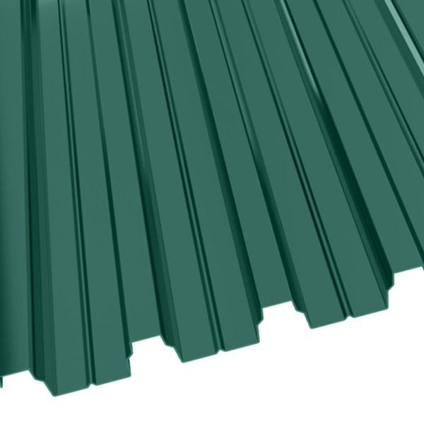 Профнастил Н-75 (800/750) 1 полиэстер RAL 6005 (зеленый мох)