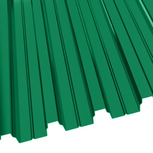 Профнастил Н-75 (800/750) 0,9 полиэстер RAL 6029 (мятно-зеленый)