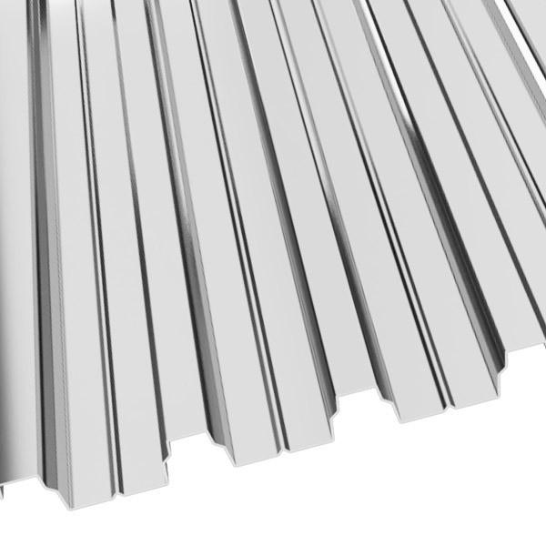 Профнастил Н-75 (800/750) 0,8 Zn (оцинкованная сталь)