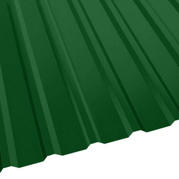Профнастил R-20 (R) с капельником (1130/1080) 0,55 полиэстер RAL 6002 (лиственно-зеленый)