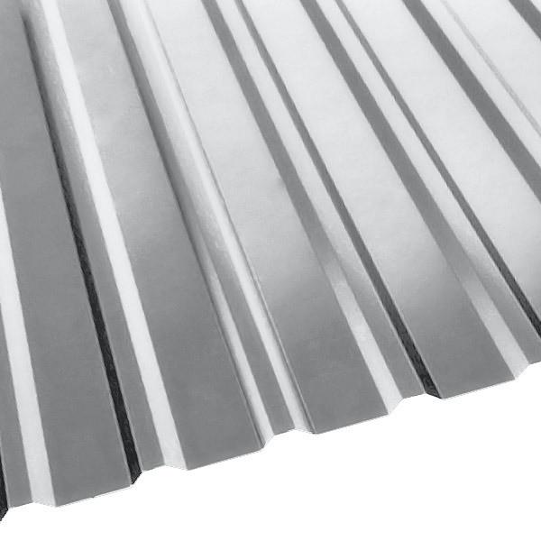 Профнастил R-20 (R) с капельником (1130/1080) 0,45 Zn (оцинкованная сталь)
