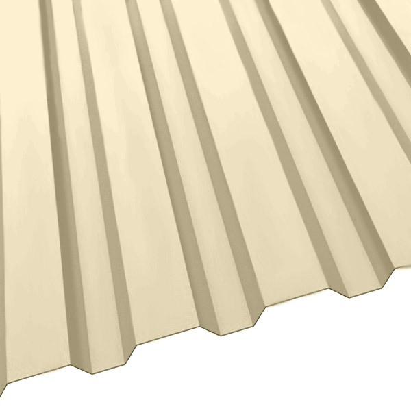 Профнастил R-20 (1150/1100) 0,45 полиэстер RAL 1015 (слоновая кость светлая)