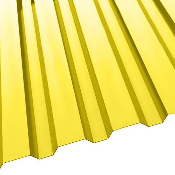 Профнастил R-20 (1150/1100) 0,55 полиэстер RAL 1018 (цинково-желтый)