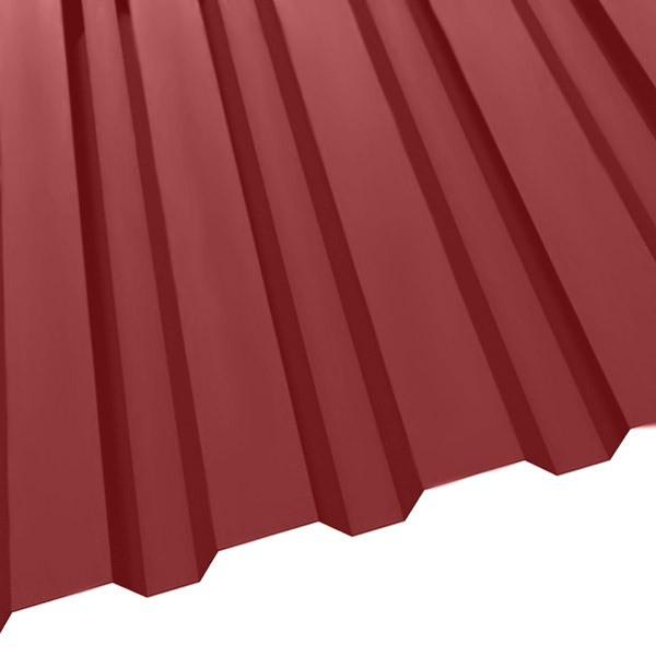 Профнастил R-20 (1150/1100) 0,45 полиэстер RAL 3003 (рубиново-красный)
