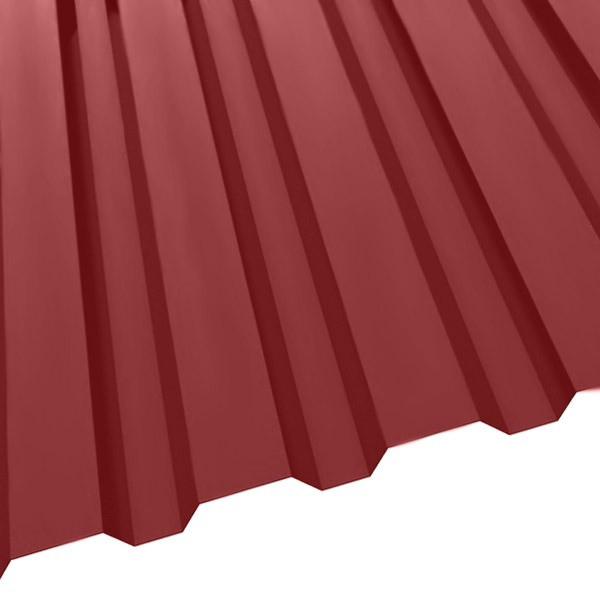 Профнастил R-20 (1150/1100) 0,45 полиэстер RAL 3011 (коричнево-красный)