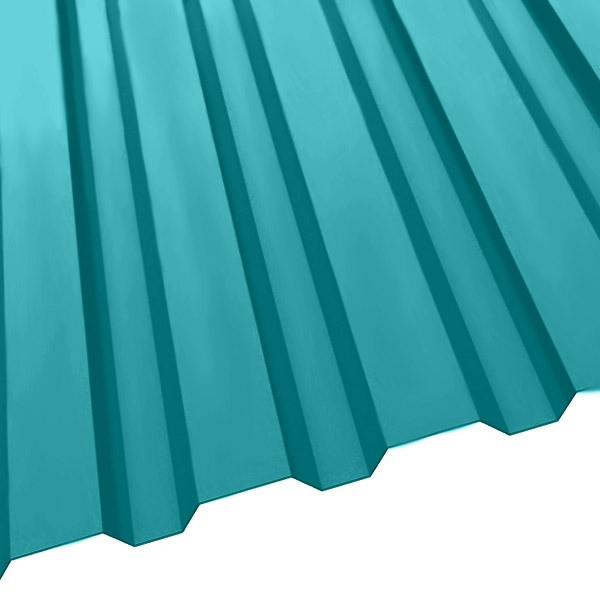 Профнастил R-20 (1150/1100) 0,5 полиэстер RAL 5021 (водная синь)