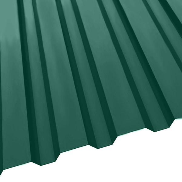 Профнастил R-20 (1150/1100) 0,45 полиэстер RAL 6005 (зеленый мох)