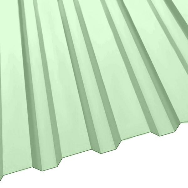 Профнастил R-20 (1150/1100) 0,4 полиэстер RAL 6019 (бело-зеленый)
