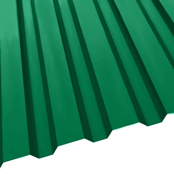 Профнастил R-20 (1150/1100) 0,45 полиэстер RAL 6029 (мятно-зеленый)