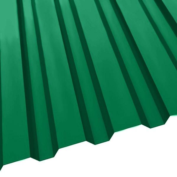 Профнастил R-20 (1150/1100) 0,55 полиэстер RAL 6029 (мятно-зеленый)