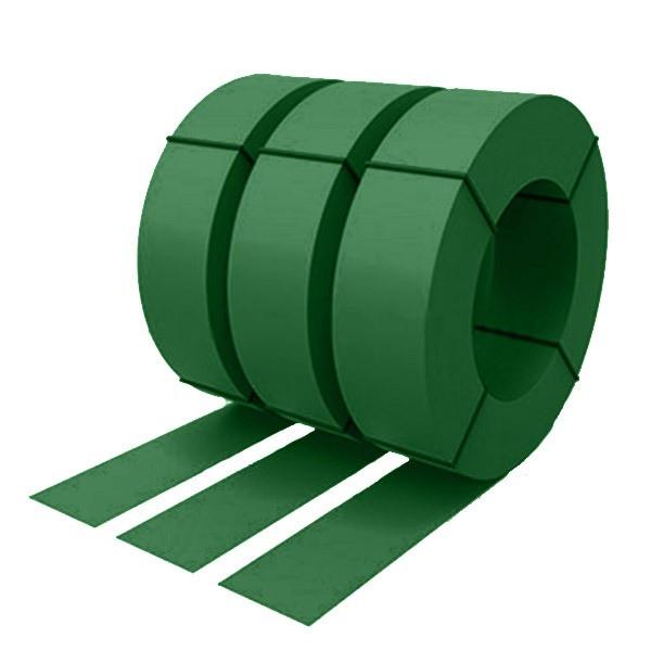 Штрипс с защитной пленкой 0,45 полиэстер RAL 6002 (лиственно-зеленый)