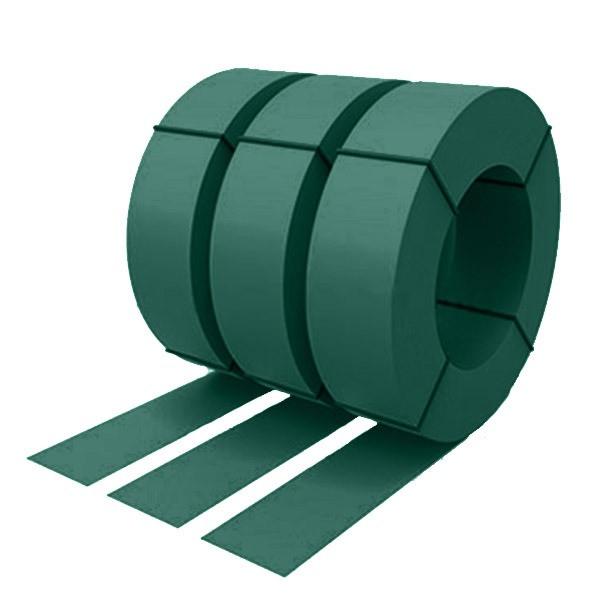 Штрипс с защитной пленкой 0,5 полиэстер RAL 6005 (зеленый мох)