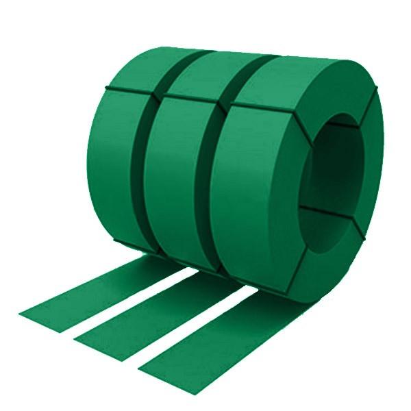Штрипс с защитной пленкой 0,55 полиэстер RAL 6029 (мятно-зеленый)