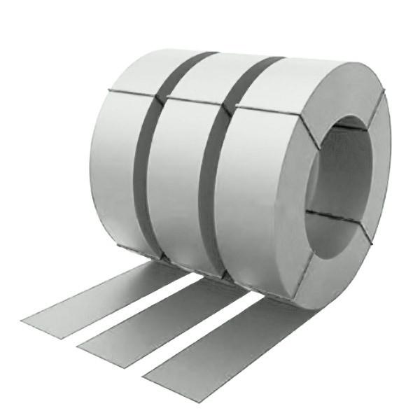 Штрипс с защитной пленкой 0,4 полиэстер RAL 9003 (сигнальный белый)