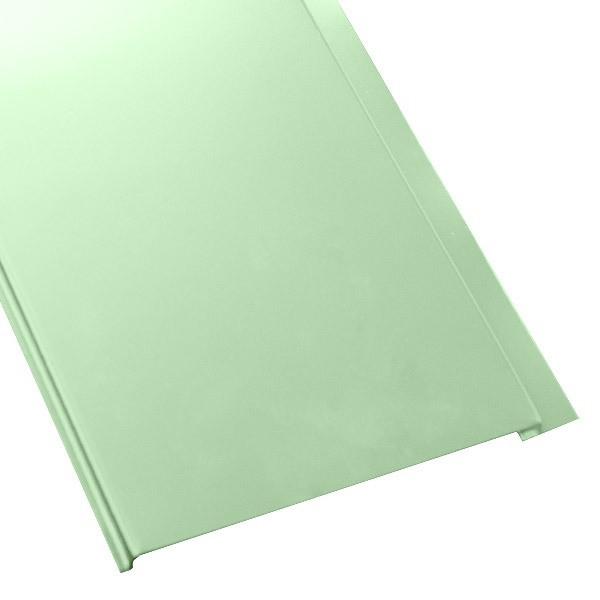 Металлосайдинг Универсальный (вертикальный) в пленке (275/245) полиэстер 0,4 RAL 6019
