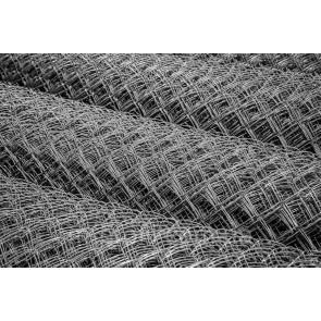 Строительная сетка-рабица оцинкованная 50 D=1,6мм (10000*1500)