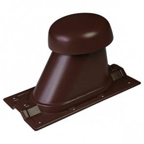Выход вентиляции для R-20 D=110/H=200 мм, RAL 8017 (шоколадно-коричневый), пластик