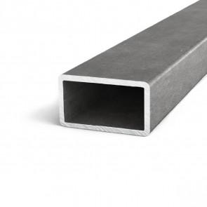 Труба профильная квадратная стальная горячекатаная 80x40x2мм 6м