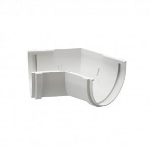 Угол желоба внешний/ внутренний 135º D 120 DOCKE Premium, пломбир