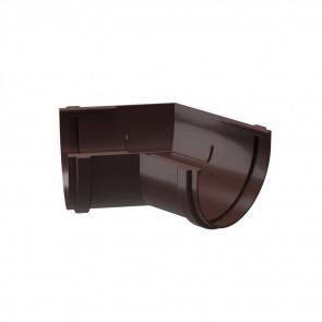 Угол желоба внешний/ внутренний 135º D 120 DOCKE Premium, шоколад