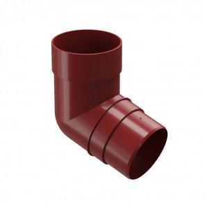 Колено трубы D 85 (72º) DOCKE Premium, гранат