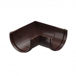 Угол желоба внешний/ внутренний 90º D 120 DOCKE Premium, шоколад