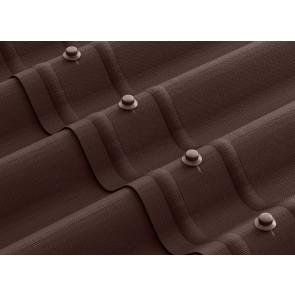 Черепица ОНДУЛИН СМАРТ (960*1950), цвет коричневый