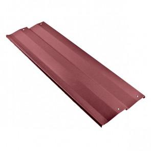 Борт грядки металлической КРОМА (250*1250) RAL 3005 (винно-красный)