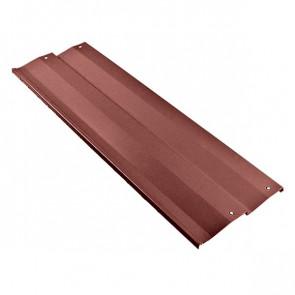 Борт грядки металлической КРОМА (250*2000) RAL 3009 (красная окись)