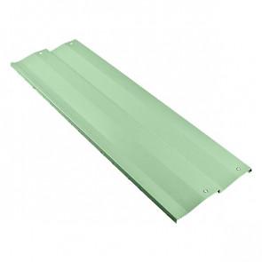 Борт грядки металлической КРОМА (250*2000) RAL 6019 (бело-зеленый)
