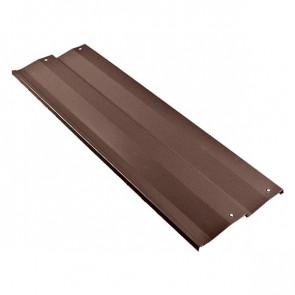 Борт грядки металлической КРОМА (250*2000) RAL 8017 (шоколадно-коричневый)