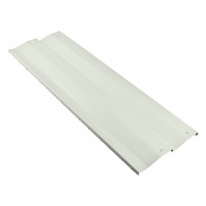 Борт грядки металлической КРОМА (250*2000) RAL 9002 (серо-белый)
