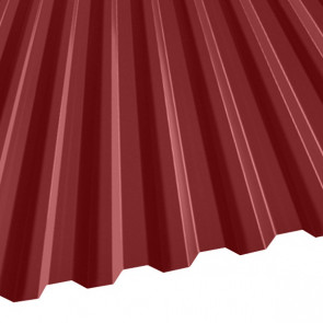 Профнастил C-21 (1051/1000) 0,65 полиэстер RAL 3003 (рубиново-красный)